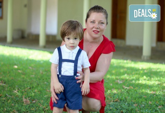 Фото заснемане на детска, семейна или индивидуална фотосесия на открито, с безплатни забавни аксесоари и подарък DVD! - Снимка 12