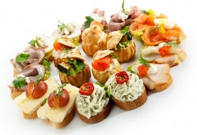 За Вашия специален повод! Вземете микс от 170 солени и сладки хапки от H&D catering! - Снимка