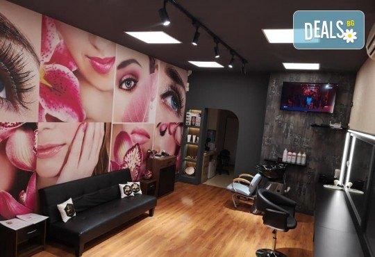 Педикюр с гел лак ORLY или Cuccio + масаж на ходилата и ДВЕ рисувани декорации в Студио за красота BEAUTY STAR до Mall of Sofia! - Снимка 5
