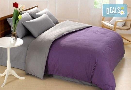 Ранфорс двулицево спално бельо в цвят и размери по избор от Спално Бельо