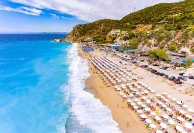 Екскурзия през септември или октомври до о. Лефкада, Гърция: 3 нощувки със закуски, транспорт и посещение на плажа Агиос Йоаннис с вятърните мелници! - Снимка