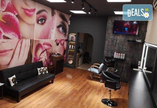 Новият Омбре стил! Боядисване, подстригване, терапия с маска и прическа със сешоар в Студио за красота BEAUTY STAR до Mall of Sofia! - Снимка 5