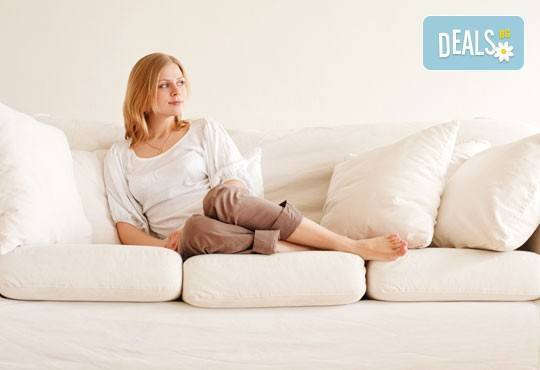 Пране до 6 седящи места - мека мебел или столове + пране на двоен матрак (едностранно) или килим до 5кв.м. от Професионално почистване Брилянтин БГ! - Снимка 2