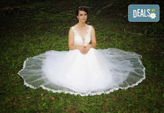 Фото и видео заснемане на сватбено тържество: цялостно фотозаснемане, видеозаснемане, фотосесия, арт фотосесия, дрон, екшън камера GoPro, видеоклип и 2 подаръка - Снимка 9