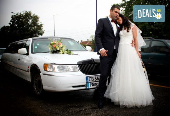 Фото и видео заснемане на сватбено тържество, VIP пакет: фотозаснемане, видеозаснемане, фотосесия, екшън камера, видеоклип, лимузина, танцов състав и подаръци! - Снимка 2