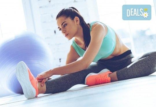 В страхотна форма за лятото! 8 тренировки с инструктор и изготвяне на индивидуална тренировъчна програма във фитнес клуб Алпина! - Снимка 1