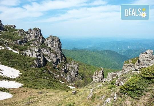 Уикенд приключение в Сърбия през май! 2 нощувки с 1 закуска и 1 вечеря, транспорт, планински водач и посещение на Ниш, Нишка баня, Миджур и Бабин зъб! - Снимка 1
