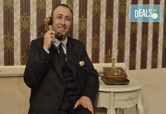 Гледайте шеметния Руслан Мъйнов в невероятната комедия СТАЯ 1313 от Рей Куни, на 18.05. от 19:00 ч, Театър Сълза и Смях, 1 билет - Снимка 2