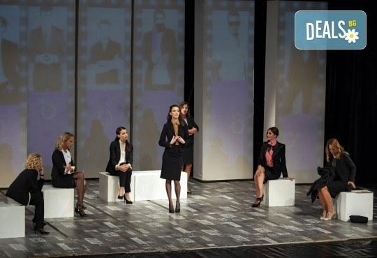 Съзвездие от актриси на сцената на Театър София! Гледайте хитовия спектакъл Тирамису на 12.06. от 19ч., голяма сцена, 1 билет! - Снимка 13