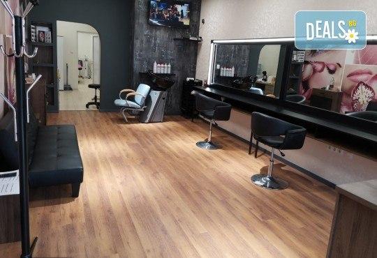 Подстригване, терапия с маска и прическа със сешоар в Студио за красота BEAUTY STAR до Mall of Sofia! - Снимка 6