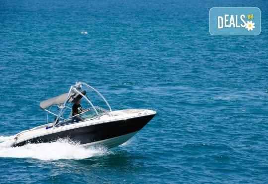 Незабравим моменти! 40 минути разходка с моторна лодка в язовир Искър от Extreme sport! - Снимка 1