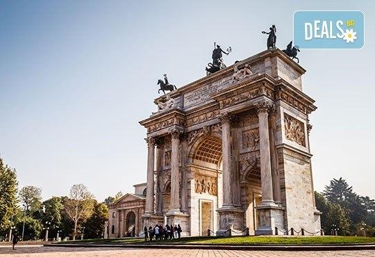 До Милано, Италия: 3 нощувки, закуски, самолетен билет, по желание - Гарда, Лугано и Комо