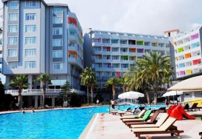 Last minute! Почивка от 24.05. в Алания, Турция! 7 нощувки на база Ultra All Inclusive в Meridia Beach Hotel 5*, транспорт, представител от ТА! - Снимка