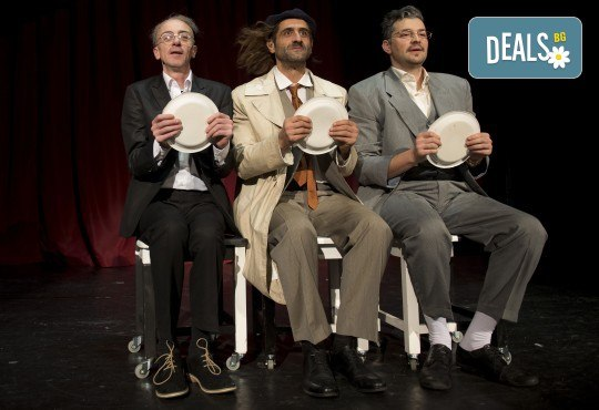 На 23-ти май (четвъртък) гледайте комедията на Теди Москов Аз обичам, ти обичаш, тя обича в Малък градски театър Зад канала! - Снимка 3