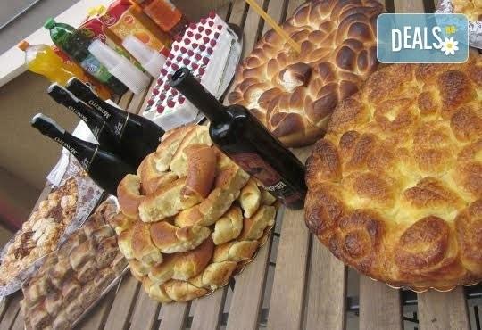 Солени кифли със сирене, кашкавал или шунка и кашкавал - 1 или 2 килограма от Работилница за вкусотии Рави! - Снимка 1