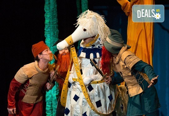 Смях с децата! Гледайте Приказка за Рицаря без кон на 02.06. от 11ч. в Младежки театър, 1 билет! - Снимка 2