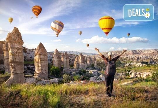 Екскурзия през септември до Кападокия, Истанбул, Анкара, Коня и Бурса - 7 нощувки, 7 закуски и 5 вечери, транспорт и водач от Шанс 95! - Снимка 1