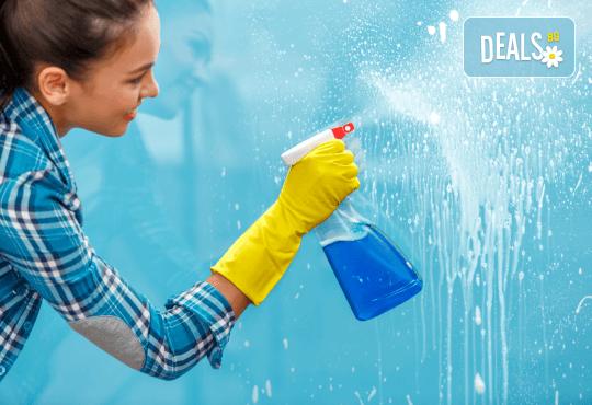 Пуснете чистотата в дома си! Цялостно почистване с био препарати, внос от Швейцария, на дом или офис до 150кв.м. от Почистване Брути! - Снимка 1