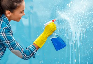 Пуснете чистотата в дома си! Цялостно почистване с био препарати, внос от Швейцария, на дом или офис до 150кв.м. от Почистване Брути! - Снимка