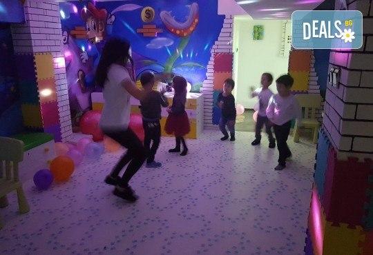 2 часа парти за до 5 деца с украса, аниматори, дискотека, подарък за рожденика, кетъринг и напитки от Детски парти център АбракадабрА! - Снимка 10