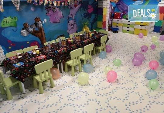 2 часа парти за до 5 деца с украса, аниматори, дискотека, подарък за рожденика, кетъринг и напитки от Детски парти център АбракадабрА! - Снимка 7