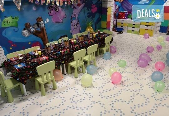 Два часа тематично парти с украса, аниматори, много игри, дискотека, подарък за рожденика, храна и напитки за всички деца от Детски парти център АбракадабрА! - Снимка 6