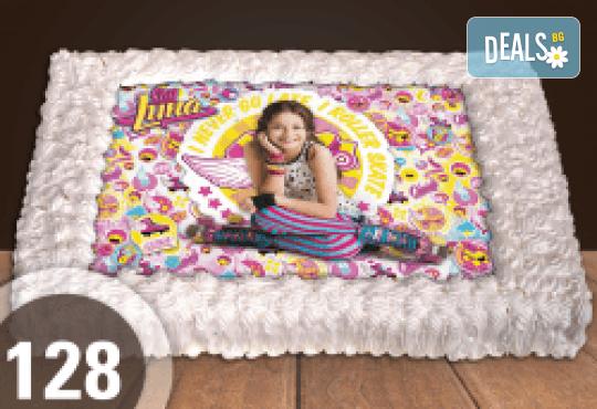 Торта за момичета! Красиви торти със снимкa на принцеси, феи и герои от филмчета за всички малки госпожици от Сладкарница Джорджо Джани! - Снимка 13