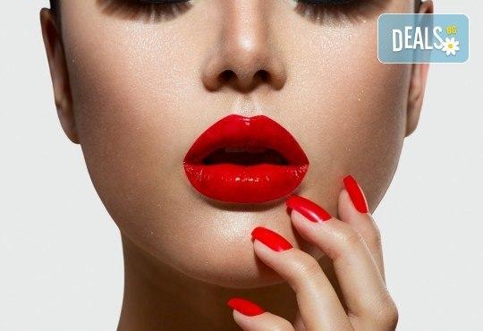 Перфектен маникюр за 14 дни! Цветен маникюр с гел лак BlueSky и CND с включено сваляне на гел лак в Салон Miss Beauty! - Снимка 2