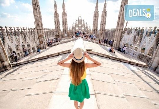 Екскурзия до Милано, Италия, с Дари Травел! Самолетен билет, 4 нощувки със закуски в хотел 2/3*, водач, обиколка в Милано и възможност за посещение на езерата Комо и Лугано! - Снимка 1