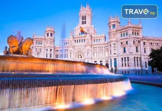 Самолетна екскурзия до Мадрид с Дари Травел през октомври! Самолетен билет, 3 нощувки със закуски в хотел 3*, водач, програма в Мадрид и възможност за посещение на Толедо - Снимка 1
