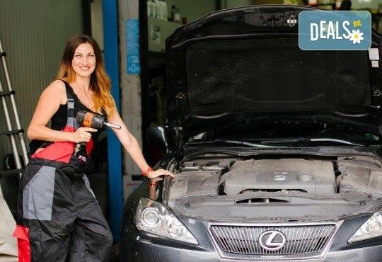 Смяна на антифриз и преглед на техническото състояние на автомобила и бонус: 20% отстъпка при закупуване на консумативи от автосервиз Jim Auto - Снимка 2