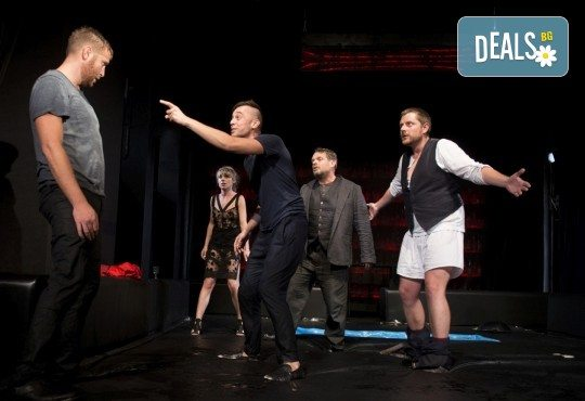 Комедията Пияните с Весела Бабина, Геро и Анастасия Лютова на 16-ти юни (неделя) в Малък градски театър Зад канала! - Снимка 2