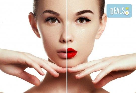 Изискана визия с дневен или вечерен грим със или без поставяне на мигли от Makeup by MM! - Снимка 1