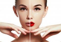 Изискана визия с дневен или вечерен грим със или без поставяне на мигли от Makeup by MM! - Снимка