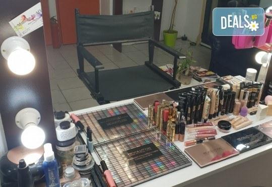 Изискана визия с дневен или вечерен грим със или без поставяне на мигли от Makeup by MM! - Снимка 7