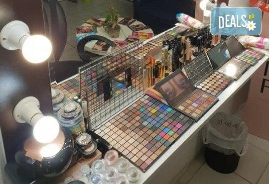 Изискана визия с дневен или вечерен грим със или без поставяне на мигли от Makeup by MM! - Снимка 9