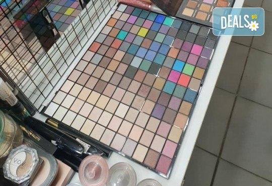 Изискана визия с дневен или вечерен грим със или без поставяне на мигли от Makeup by MM! - Снимка 11