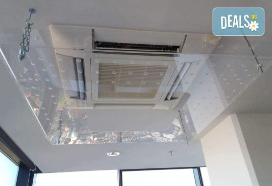 Прецизна изработка и лесен монтаж! Вземете предпазител за климатик с размер 100/100 см и дебелина 4 мм от Мебел Ленд! - Снимка 2