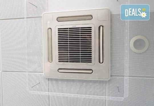 Прецизна изработка и лесен монтаж! Вземете предпазител за климатик с размер 100/100 см и дебелина 4 мм от Мебел Ленд! - Снимка 1