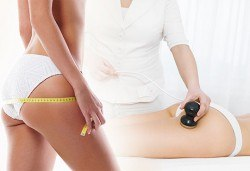 1 или 4 комбинирани терапии за стягане и намаляване на сантиметрите - тренировка с Vibro plate, кавитация на зона по избор, ръчен антицелулитен лимфодренаж + вендузи, в Wellness Center Ganesha Club! - Снимка