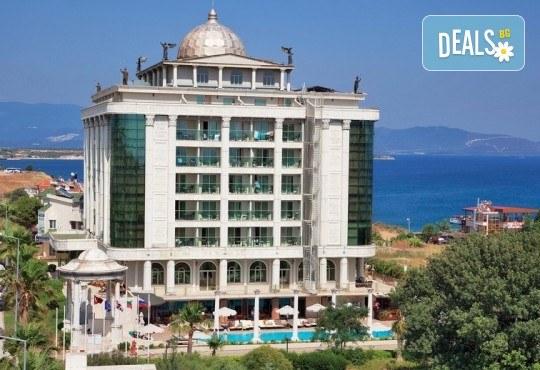 Късно лято в Didim Beach Elegance Aqua & Thermal 5*, Турция, с Глобус Холидейс! 5 или 7 нощувки All Inclusive, безплатно за дете до 12.99 г, възможност за транспорт - Снимка 3
