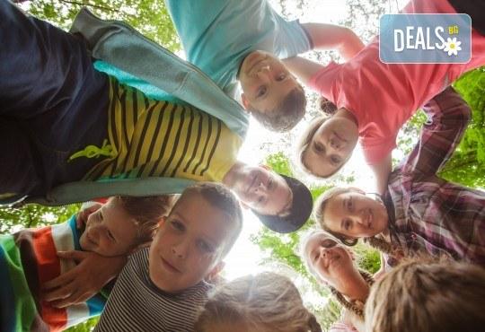 Рожден ден в конна база София - Юг - 3 часа детско парти за до 10 деца с конна езда, стрелба с лък, батут, тролей, викторини, забавни игри и много други забавления! - Снимка 1