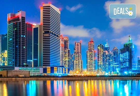Есенна почивка в Дубай, ОАЕ, с Лале Тур! Самолетен билет, летищни такси, 4 нощувки със закуски в хотел по избор 3 или 4*. Индивидуално пътуване! - Снимка 1
