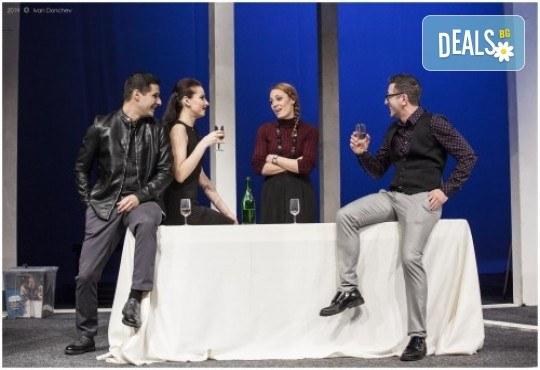 Гледайте премиера за сезона в Театър София! Любими актьори в постановката на Нина Рейн - Съгласие, на 17.06. от 19 ч., билет за един - Снимка 7