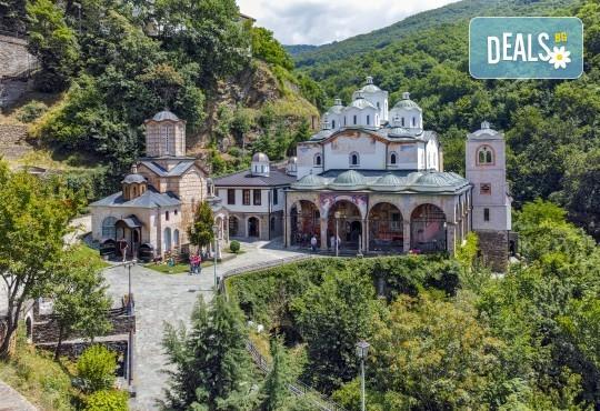На 20.07. екскурзия до Крива паланка и Осоговския манастир: транспорт и екскурзовод