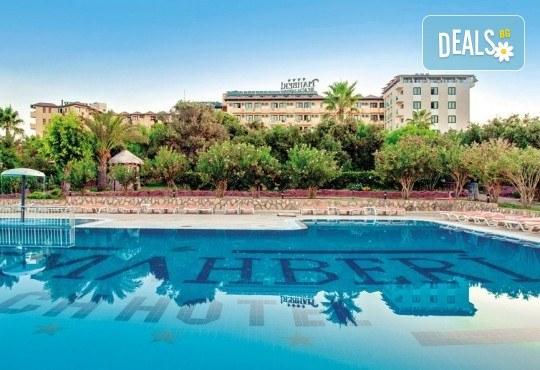 Last minute! All Inclusive почивка от 22.06. в Хотел MC Mahberi Beach 4*, Алания, Турция! 7 нощувки на база All Inclusive, възможност за транспорт - Снимка 1