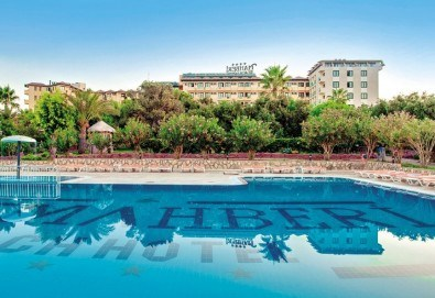 Last minute! All Inclusive почивка от 22.06. в Хотел MC Mahberi Beach 4*, Алания, Турция! 7 нощувки на база All Inclusive, възможност за транспорт - Снимка