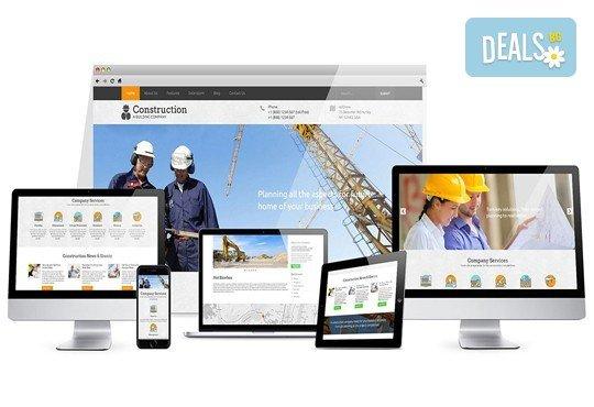Популяризирайте бизнеса си! Изработване на уеб сайт, инсталиране и SEO оптимизация от IMM Design! - Снимка 2