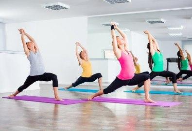 Студио за аеробика и танци Фейм - 4 тренировки по избор от йога стречинг, комбинирана гимнастика, Зумба, Body Shape, Fat Burning