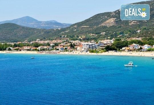 За 1 ден на плаж до Неа Ираклица в Гърция! Транспорт, включена медицинска застраховка и водач от Глобус Турс! - Снимка 1